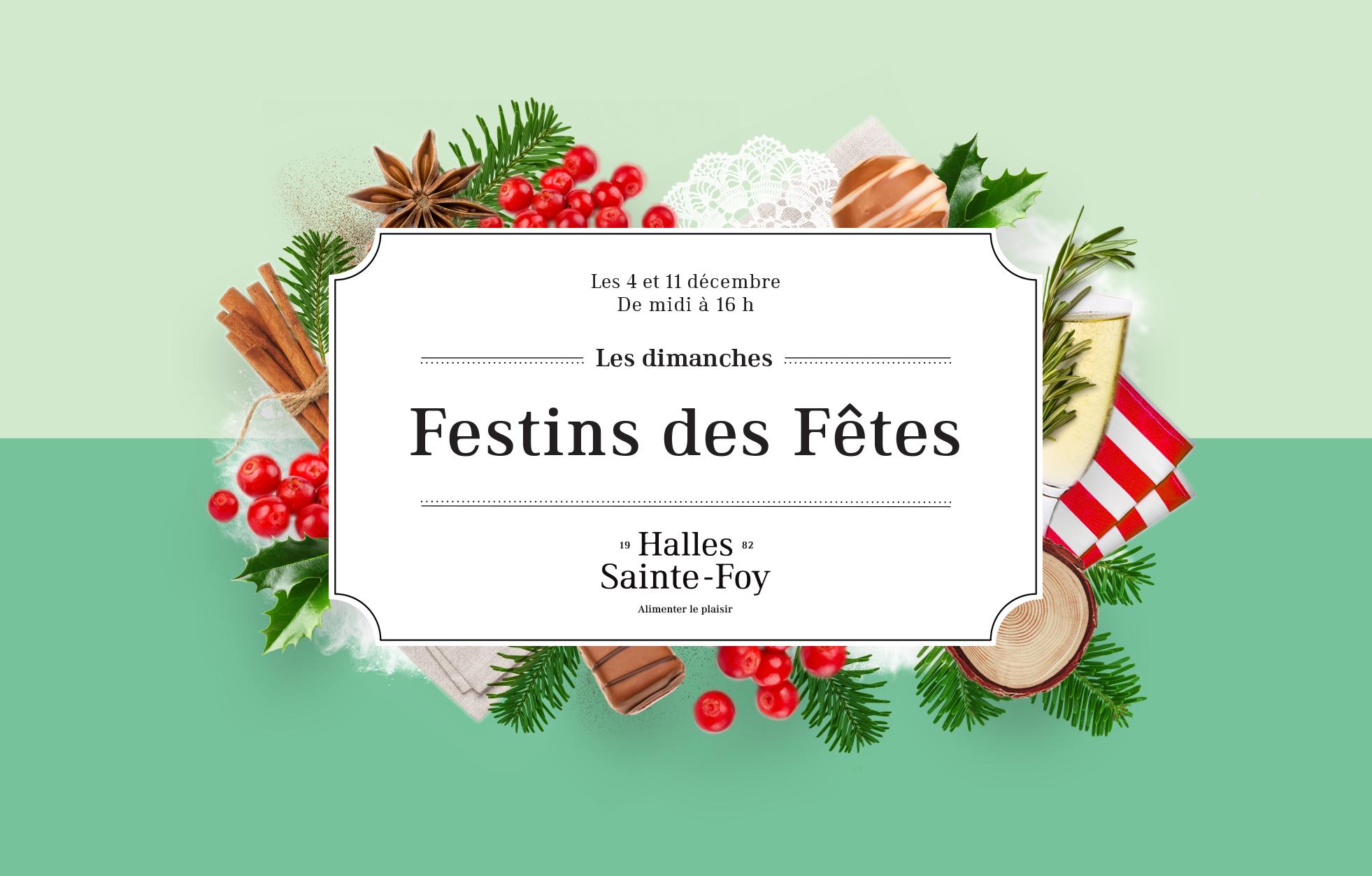 Nouveaux événements gourmands pour Noël aux HSF