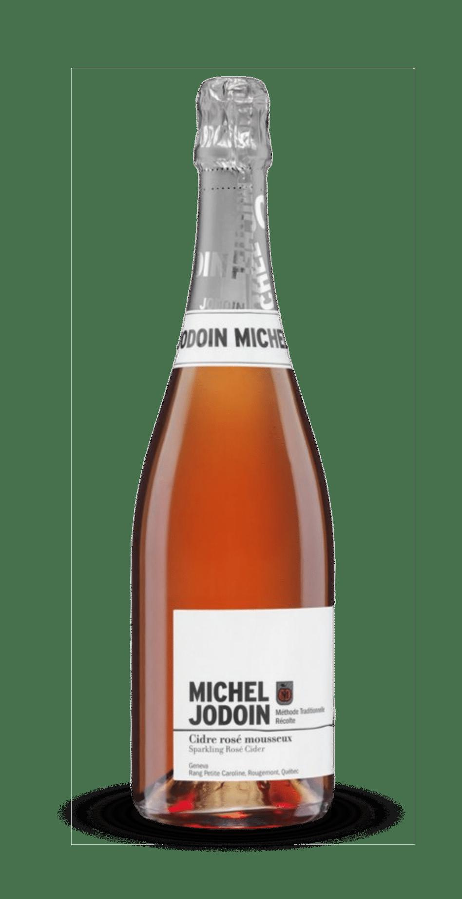Michel Jodoin Cidre mousseux rosé