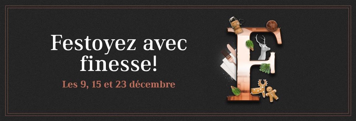 Festoyez avec finesse aux Halles Sainte-Foy!